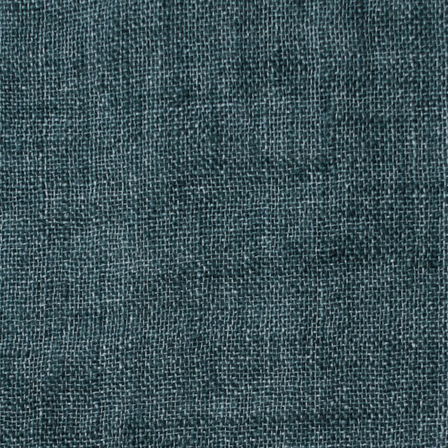 リネン×無地(バルビゾンブルー)×ガーゼ_全5色_イタリア製 イメージ1