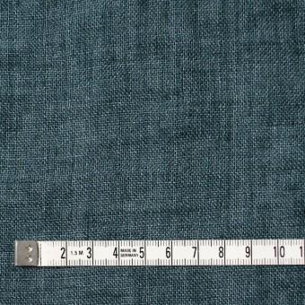 リネン×無地(バルビゾンブルー)×ガーゼ_全5色_イタリア製 サムネイル4