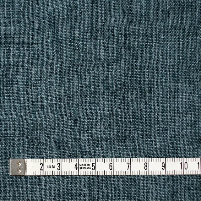 リネン×無地(バルビゾンブルー)×ガーゼ_全5色_イタリア製 イメージ4