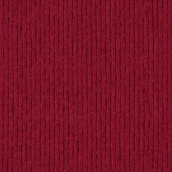 ウール×無地(レッド)×圧縮リブニット_全8色 サムネイル1