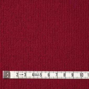 ウール×無地(レッド)×圧縮リブニット_全8色 サムネイル4