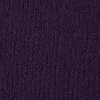 ウール×無地(パープル)×圧縮リブニット_全8色 サムネイル1
