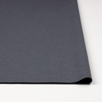 ウール×無地(ストームグレー)×圧縮リブニット_全8色 サムネイル3