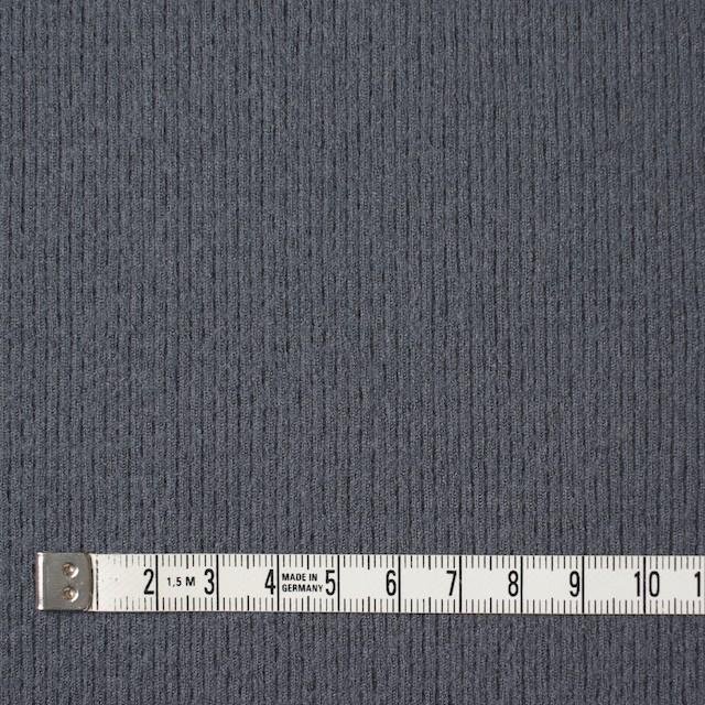 ウール×無地(ストームグレー)×圧縮リブニット_全8色 イメージ4