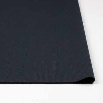 ウール×無地(チャコールグレー)×圧縮リブニット_全8色 サムネイル3