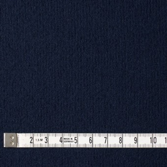 ウール×無地(ネイビー)×圧縮リブニット_全8色 サムネイル4