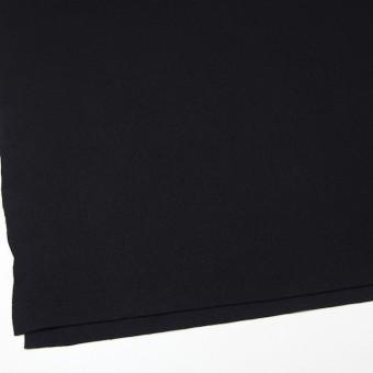 ウール×無地(ブラック)×圧縮リブニット_全8色 サムネイル2
