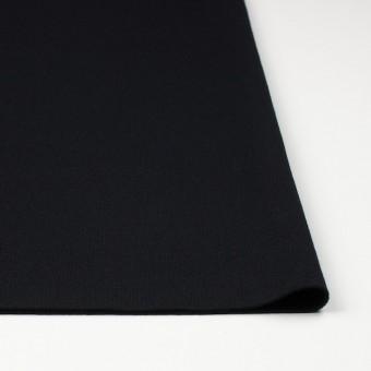 ウール×無地(ブラック)×圧縮リブニット_全8色 サムネイル3