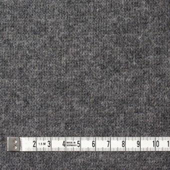 ウール&ナイロン混×無地(グレー&キナリ)×Wニット サムネイル4