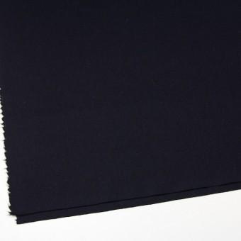 ウール&ポリウレタン×無地(ブラック)×フラノ(フランネル) サムネイル2