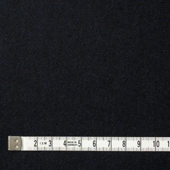 ウール&ポリウレタン×無地(ブラック)×フラノ(フランネル) サムネイル4
