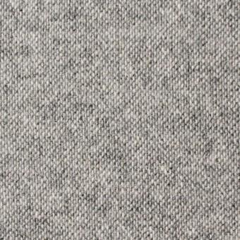 ウール&ポリエステル×無地(ライトグレー)×ツイード