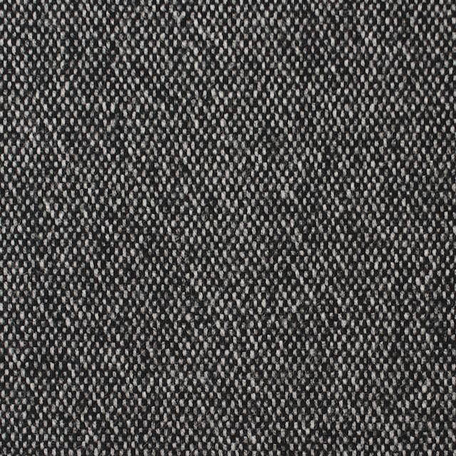 ウール&ポリエステル混×無地(ブラック)×ツイードストレッチ イメージ1