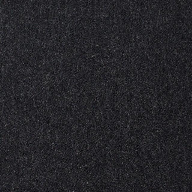 ウール×無地(チャコールグレー)×サージ イメージ1