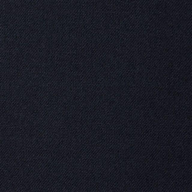 ウール&ポリウレタン×無地(ダークネイビー)×サージストレッチ イメージ1