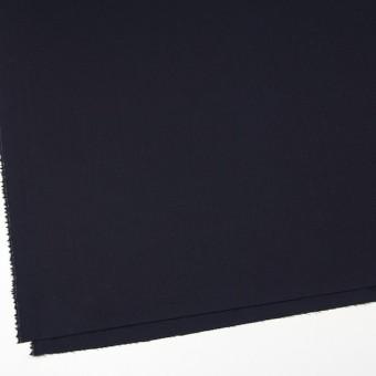 ウール&ポリウレタン×無地(ダークネイビー)×サージストレッチ サムネイル2