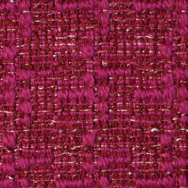 ウール&ポリエステル×ミックス(チェリーピンク)×ファンシーツイード_全2色 イメージ1