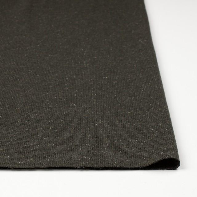 ウール&シルク混×無地(カーキグリーン)×天竺ニット イメージ3