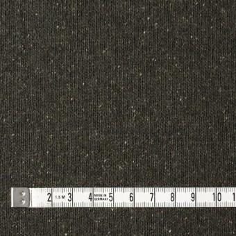 ウール&シルク混×無地(カーキグリーン)×天竺ニット サムネイル4