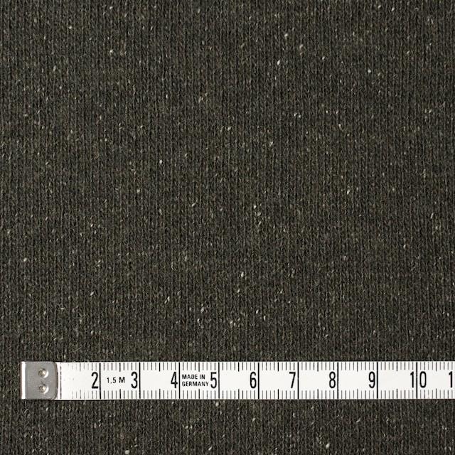 ウール&シルク混×無地(カーキグリーン)×天竺ニット イメージ4