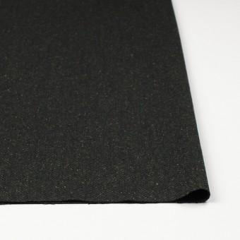 ポリエステル&ウール混×無地(モスグリーン)×ヘリンボーンストレッチ_イタリア製 サムネイル3