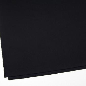 ウール×無地(ブラック)×メルトン サムネイル2