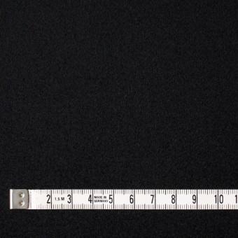 ウール×無地(ブラック)×メルトン サムネイル4