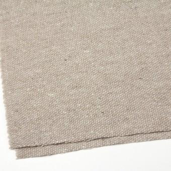 ウール&アンゴラ混×無地(ベージュミックス)×かわり織 サムネイル2