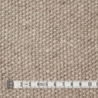 ウール&アンゴラ混×無地(ベージュミックス)×かわり織 サムネイル4