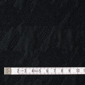 ウール×幾何学模様(ブラック)×風通織ジャガード サムネイル4