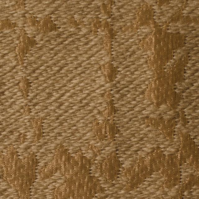 ウール&キュプラ×幾何学模様(アンティークゴールド)×ジャガード_全2色 イメージ1