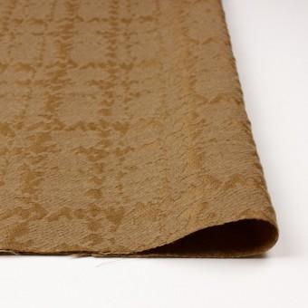 ウール&キュプラ×幾何学模様(アンティークゴールド)×ジャガード_全2色 サムネイル3