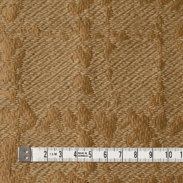 ウール&キュプラ×幾何学模様(アンティークゴールド)×ジャガード_全2色 イメージ4