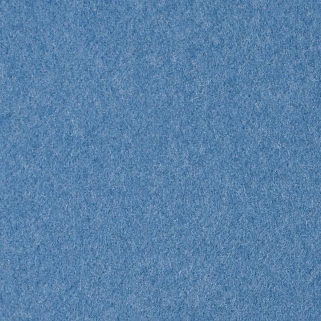 ウール×無地(サックスブルー&サックス)×Wフェイスビーバー_全3色 イメージ1