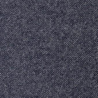ウール×無地(ブルー)×ツイード
