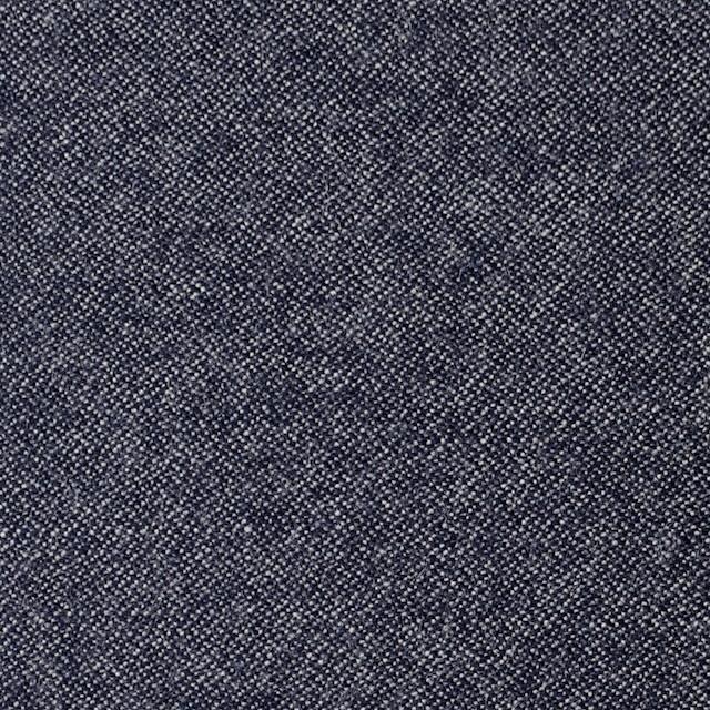 ウール×無地(ブルー)×ツイード イメージ1