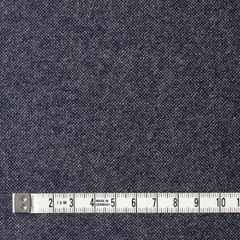 ウール×無地(ブルー)×ツイード サムネイル4