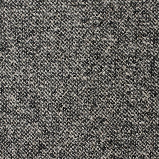 ウール&ポリウレタン×無地(チャコールグレー)×ツイードストレッチ イメージ1