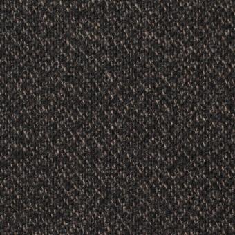 ウール×無地(モカ&ブラック)×ツイード サムネイル1