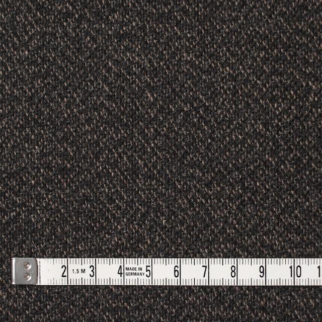 ウール×無地(モカ&ブラック)×ツイード イメージ4