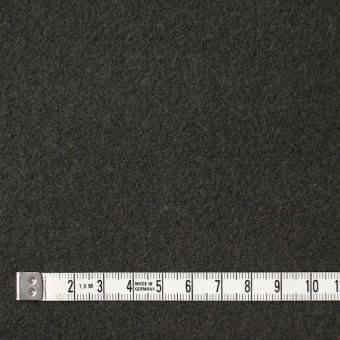 ウール×無地(オリーブグリーン)×メルトン サムネイル4