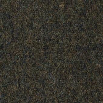 ウール×無地(ダークカーキグリーン)×メルトン サムネイル1