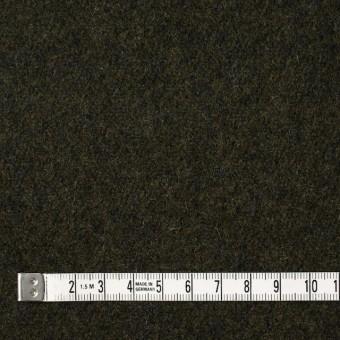 ウール×無地(ダークカーキ)×メルトン サムネイル4