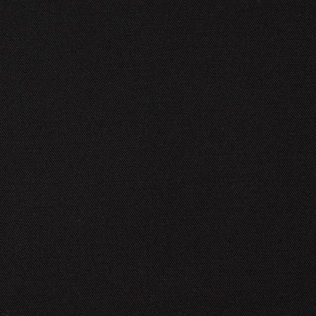 コットン×無地(ブラック)×ギャバジン イメージ1
