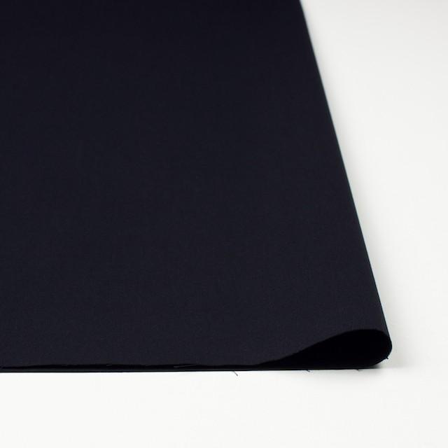 コットン×無地(ブラック)×シャンブレーギャバジン イメージ3