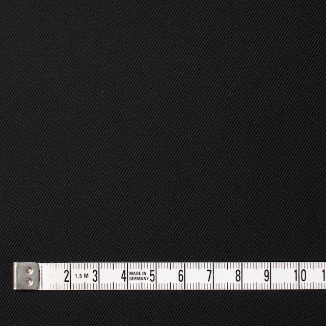 コットン×無地(ブラック)×ギャバジン イメージ4