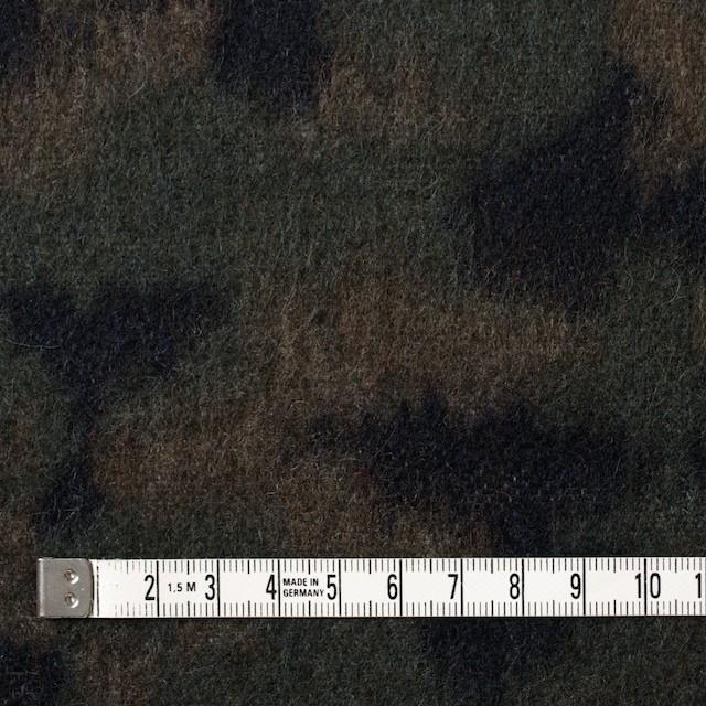 ウール&ポリエステル混×幾何学模様(グリーンミックス)×ビーバージャガード_全2色 イメージ4