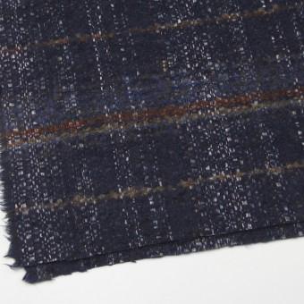 ウール&シルク×ミックス(ブルー)×ファンシーツイード_全2色_イタリア製 サムネイル2