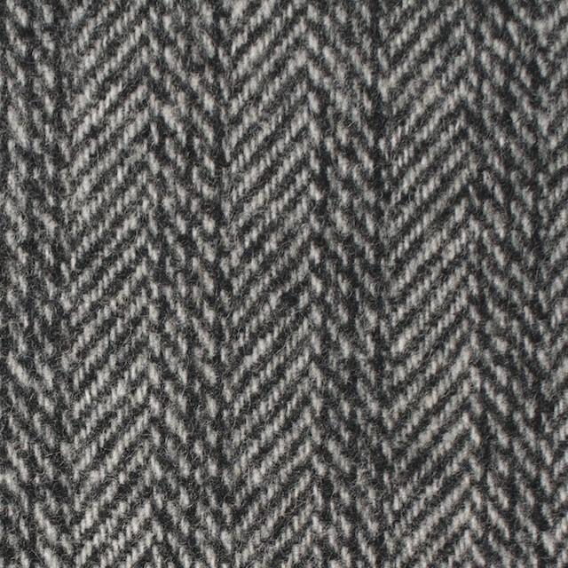 ウール&ナイロン×ストライプ&無地(グレー)×ヘリンボーン&ツイード イメージ1
