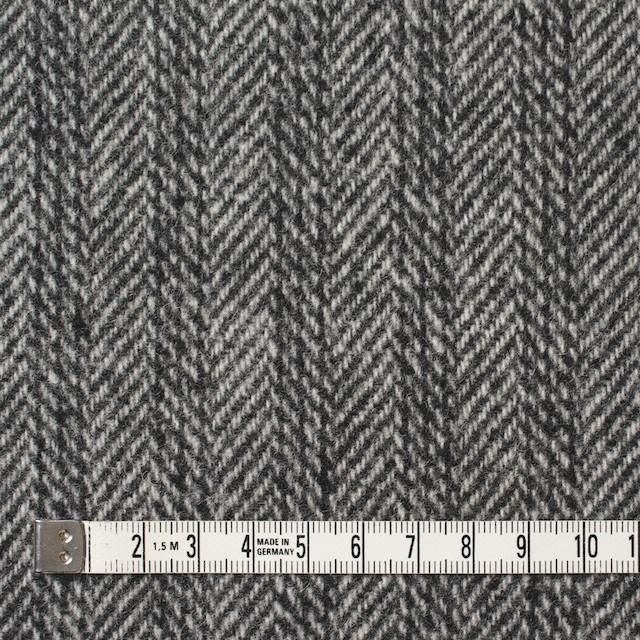 ウール&ナイロン×ストライプ&無地(グレー)×ヘリンボーン&ツイード イメージ4